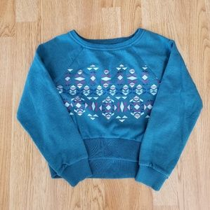 Arizona Jean Company Girls Long Sleeve Sweater
